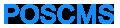 POSCMS - PHP开源CMS网站管理系统 - CodeIgniter框架 - 网站建设首选利器!www.phpkai